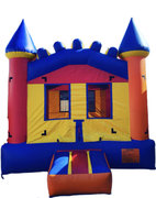 13ft x 13ft Multi color Bounce House 001