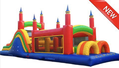 13ft x 40ft Rainbow Obstacle course