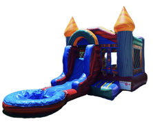 13ft x 23ft Swirl Front Slide Bounce House & Pool