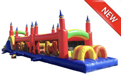 13ft x 60ft Rainbow Obstacle course