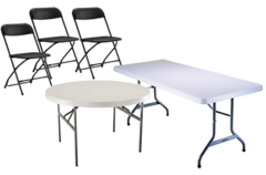 Tables, Chairs and More