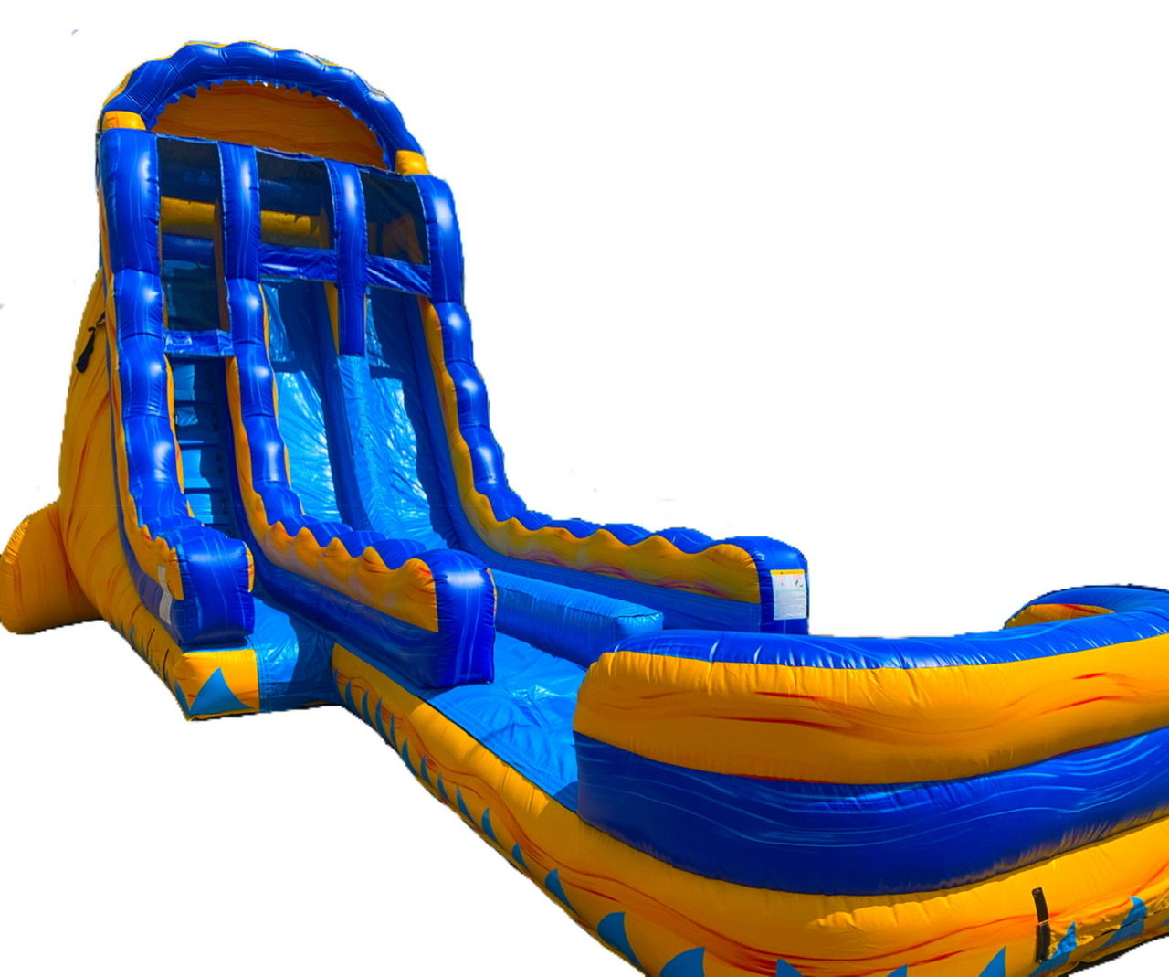Riptide 19ft Dual Lane Inflatable Water Slide