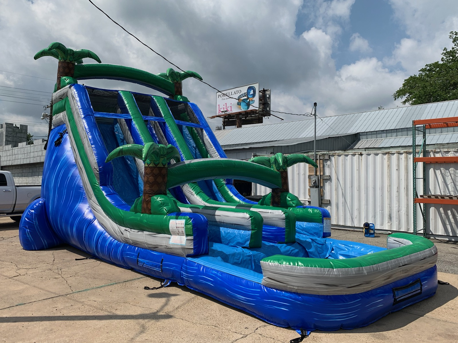 19ft Wild Rapids Water Slide with A Huge Pool