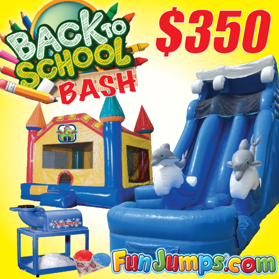 Fun Jumps & Water Slide Rentals Lafayette LA