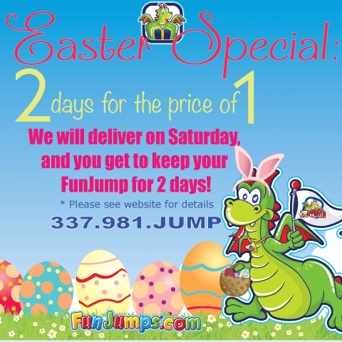 Easter Special: Two days for 1