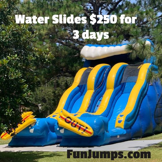 Waterslides $250