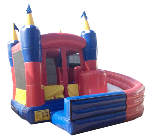 Toddler Castle Curve Slide Combo 13272