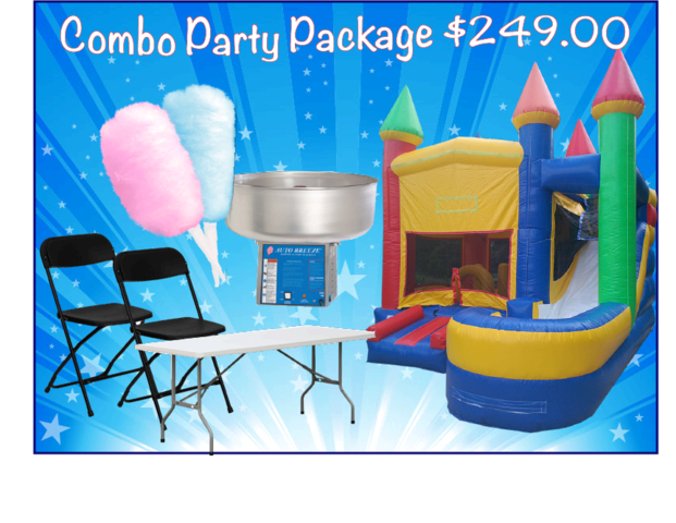 Slide Combo Party Package