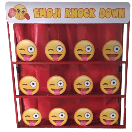 Emoji Knockdown Games EK101-05