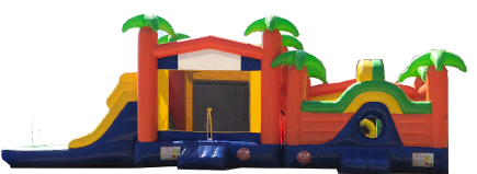 Paradise Playground Combo Obstacle