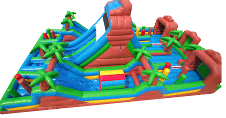 Tropical Obstacle Course HUGE 91215-04