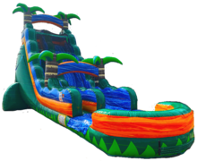 22ft Emerald Falls Waterslide