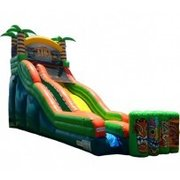 20' Tiki Island Waterslide