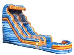 18ft Fire & Ice Waterslide