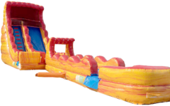 20 ft Lava Slip and Dip Waterslide