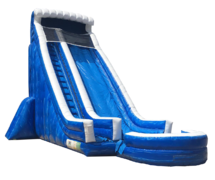 24 ft Hurricane Waterslide with pool