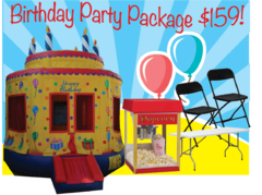 Birthday Party Package  with Fun Jump