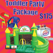 Toddler Party Package FunJump
