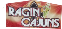 Ragin Cajun Art Panel