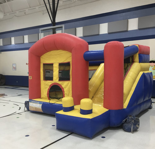 Toddler Combo with Mini Slide