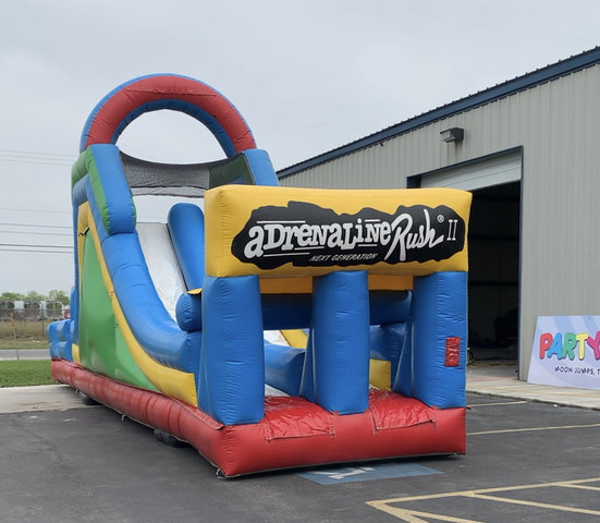 Adrenaline Mega Slide Obstacle (Dry Only)