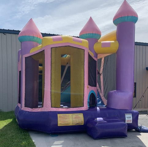 Queen Castle with Slide
