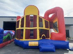 Bounce House 5 in 1 Combo with Slide