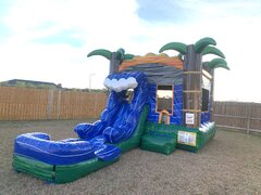 MonSoon Madness 4 in 1 Water Slide