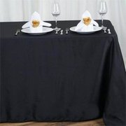 Tablecloth black rectangle 90x156