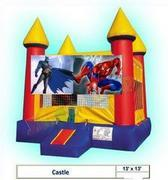Batman Spiderman Castle