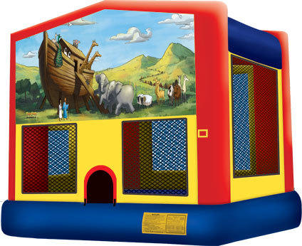 Noah's Ark Bounce House (Large)