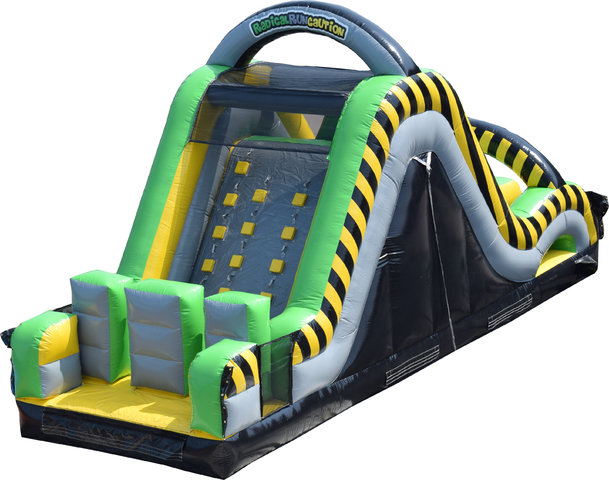 16' Caution Dual Slide