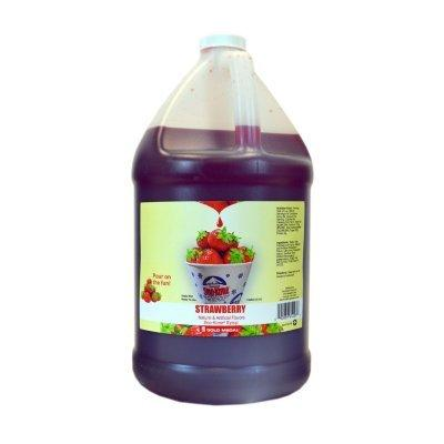 Strawberry Sno-Cone Flavor 1gal