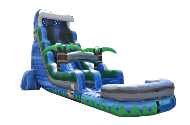22' Screamer Water Slide