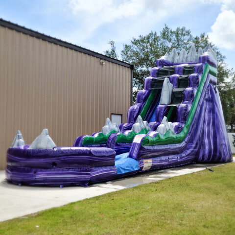 Purple Mountain Water Slide