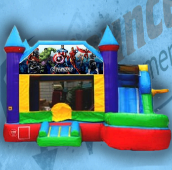 Avengers Bouncy Castle Combo