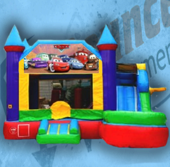 Cars Bouncy Castle Combo