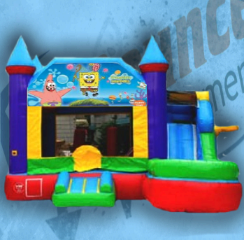 Sponge Bob Bouncy Castle Combo