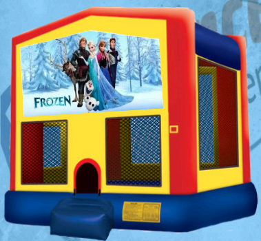 Frozen Bounce House B