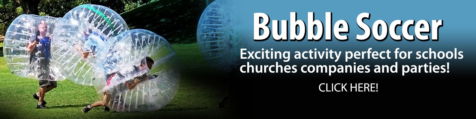 Bubble Soccer Rentals