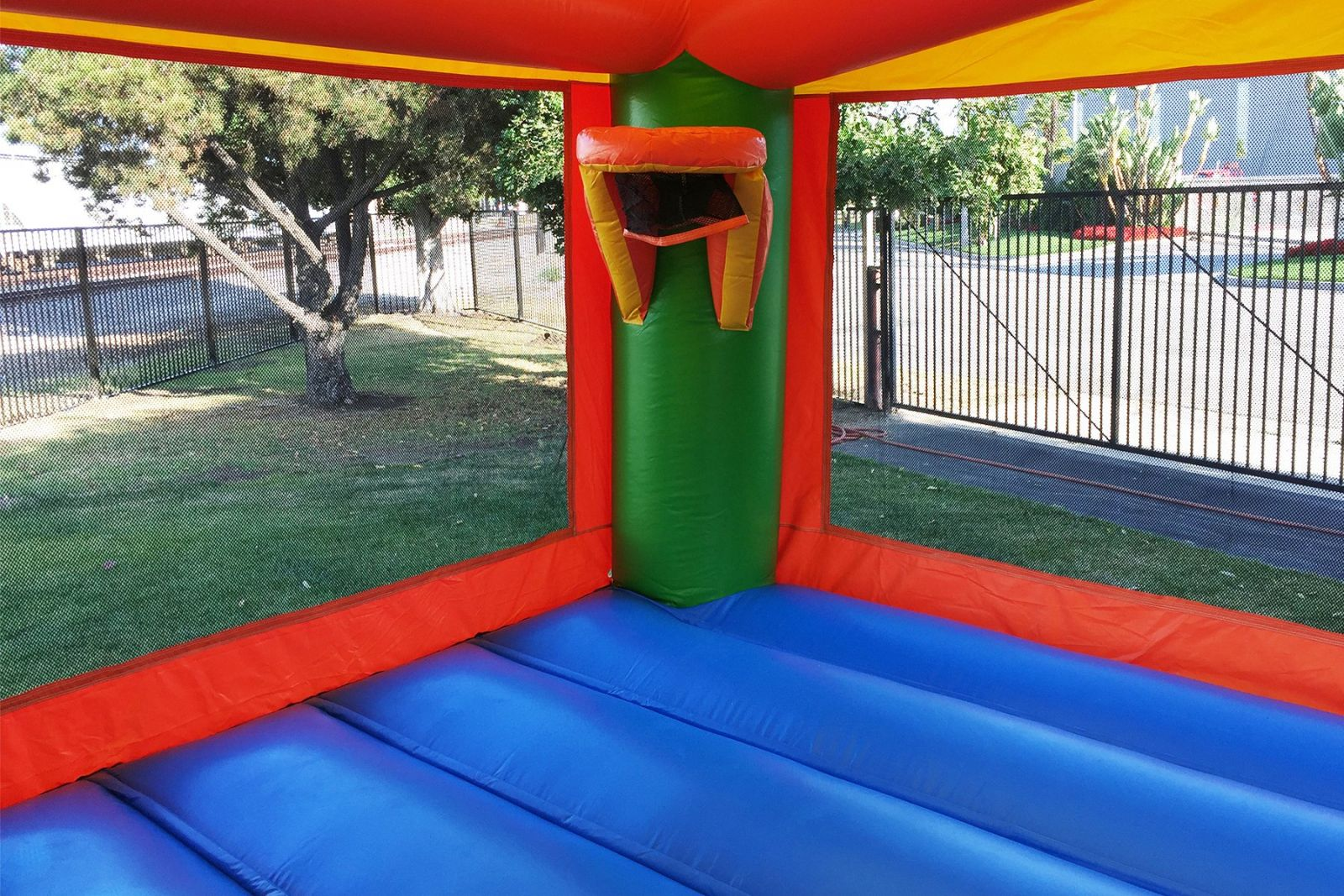 Interior bounce house