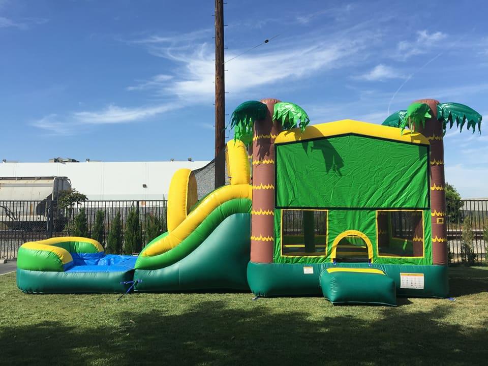 6a690ab9b Aloha Tropical Bounce Slide Combo Rental