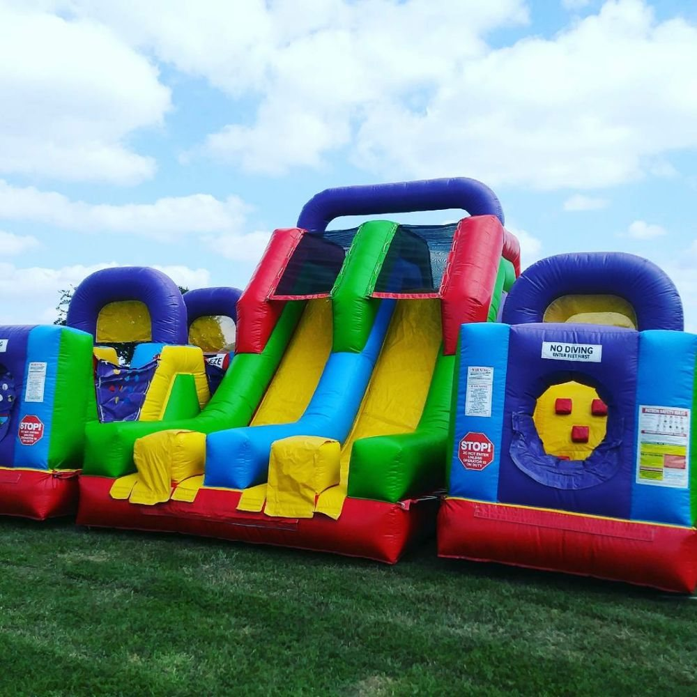 obstacle course rental kansas city