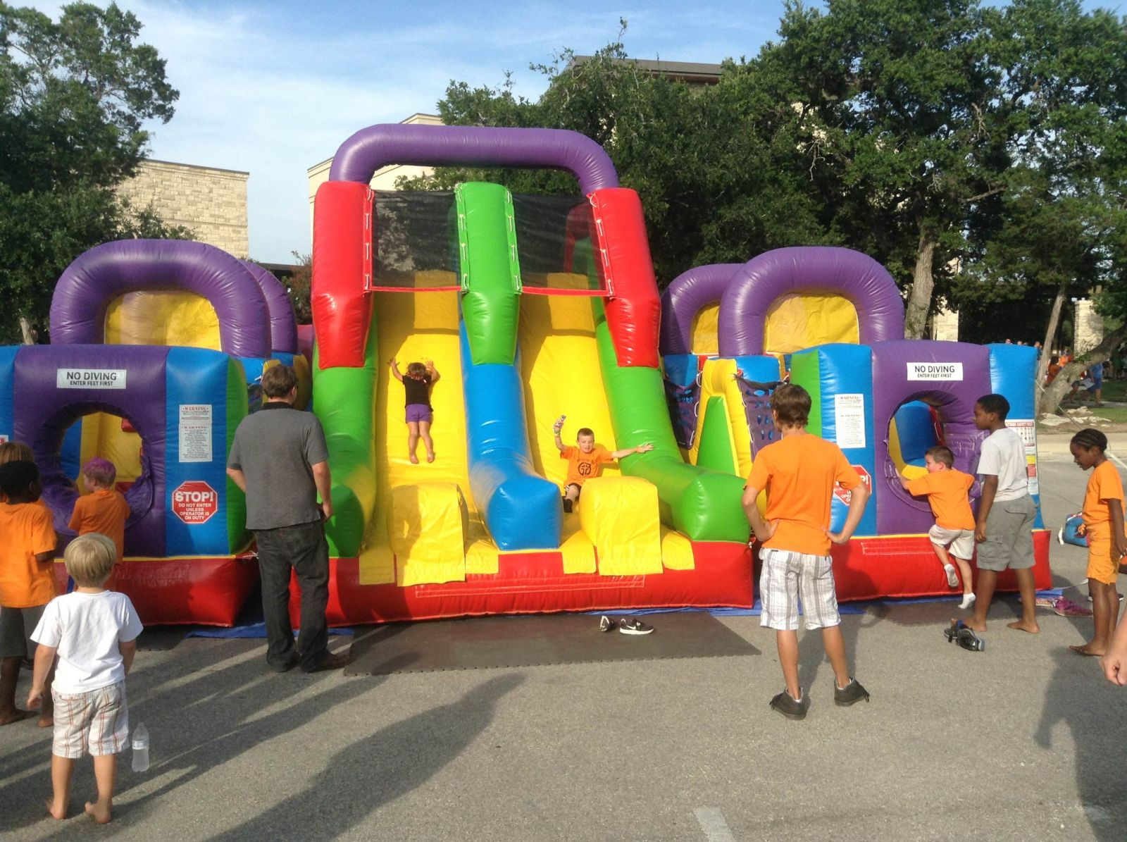 inflatable obstacle course rental kansas city