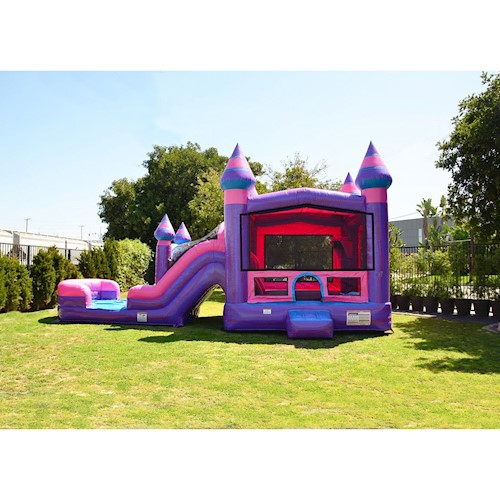 Pink jumpy castle kansas city