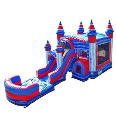 superhero inflatable bounce house