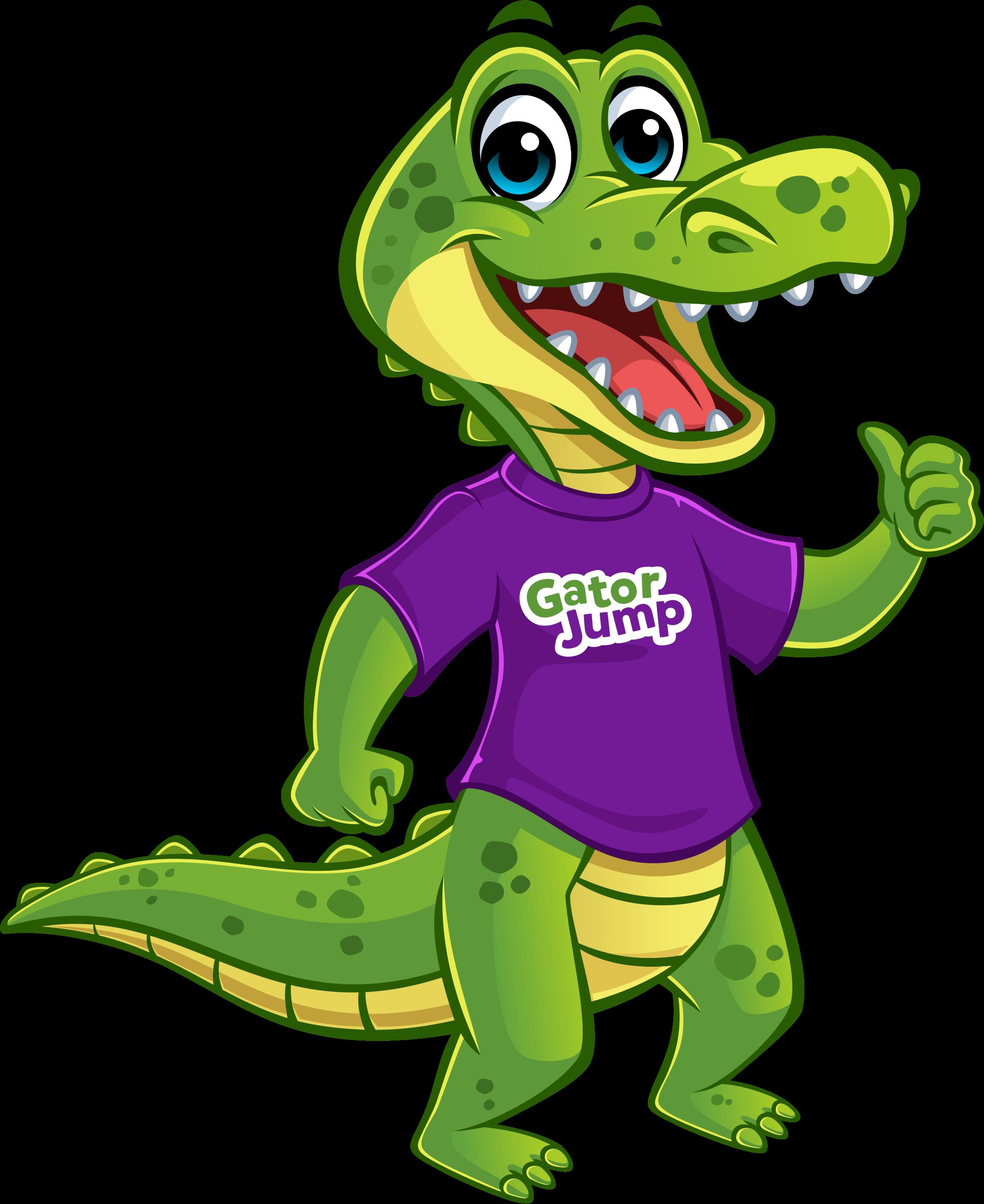 gator jump logo