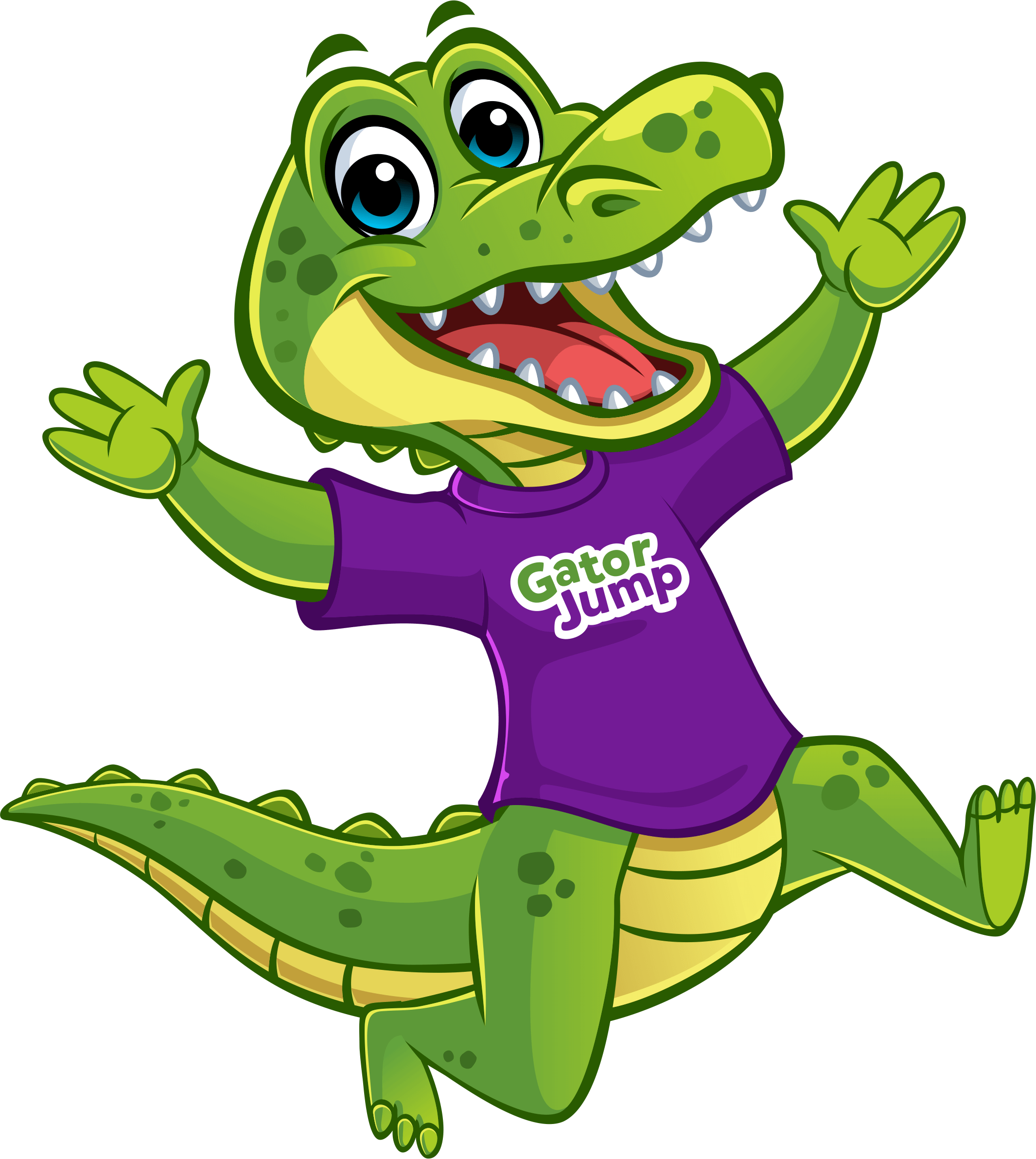 Gator Jump Mascot