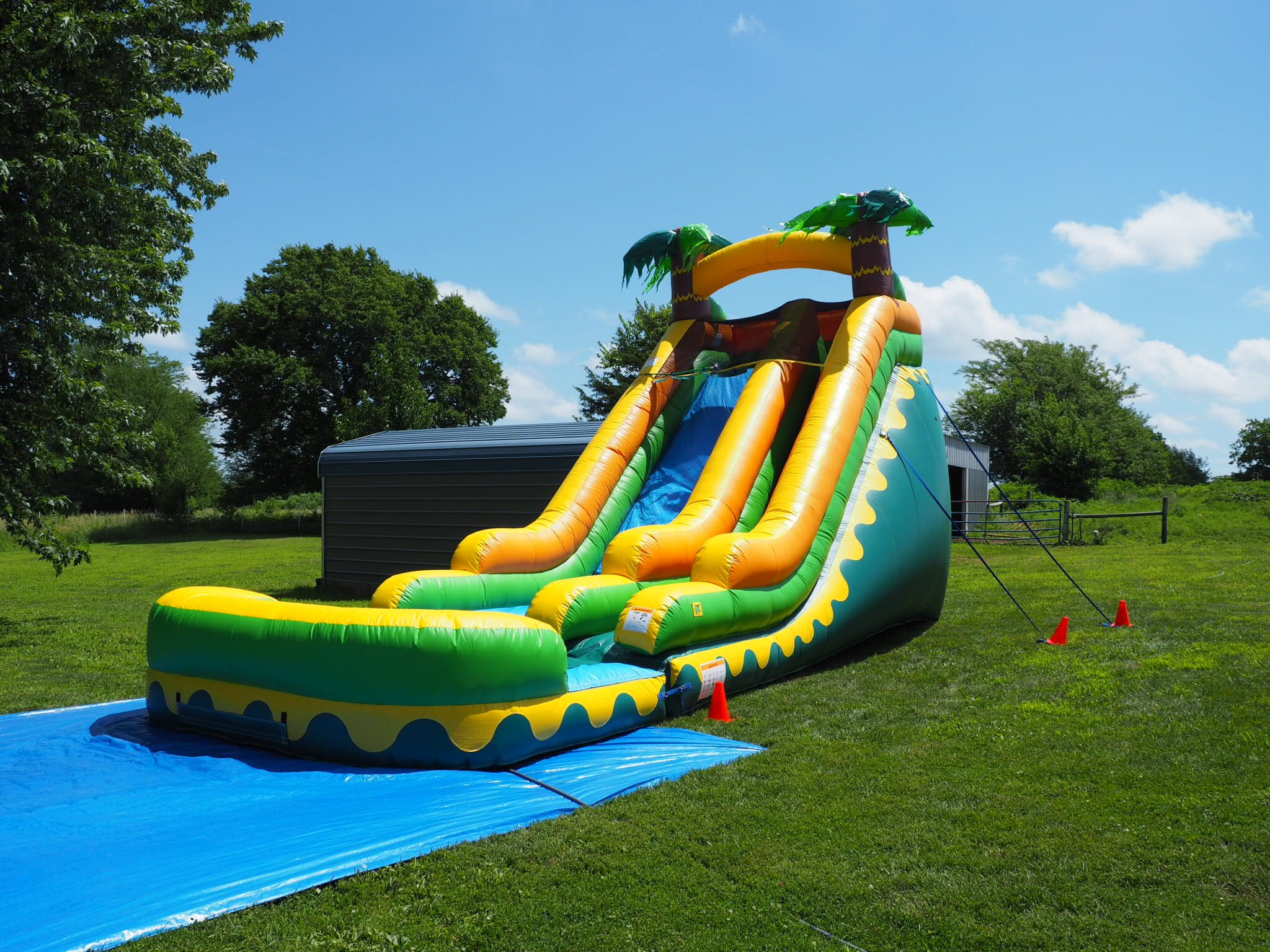 Summer day water slide rental Kansas City, MO.