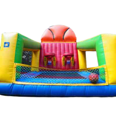inflatable basketball shooting game